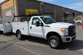 Ford F350 Truck Box - 96v service body with cargo rack titan truck