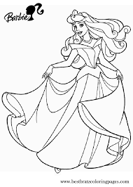 barbie princess coloring pages tomas tanaka