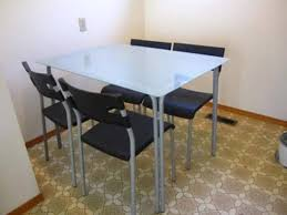 ikea glass dining table set ikea dining table chairs house plans and more house design