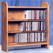 wood cd dvd cabinet oak 3 shelf cd cabinet