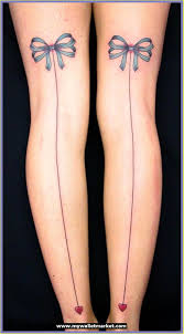 knee tattoo fashion for girls