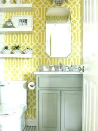 Yellow And Grey Bathroom Decorating Ideas Yellow Bathrooms