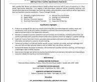 Successful Resume Template Sample Of A Successful Resume Free Resume