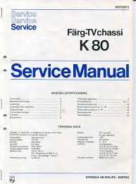 philips k80 service manual u2013 early philips colour tv