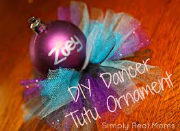 diy dancer tutu ornament