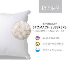 Best Sheets Reviews by Extra Soft Down Pillow By Exceptional Sheets Reviews Qpillow
