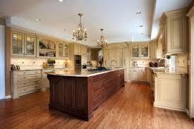 tile countertops different color kitchen cabinets lighting