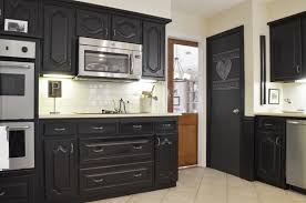Painting Kitchen Cabinets Black Chalk Paint Kitchen Cabinets How Durable Kitchen Mommyessence Com