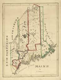 Maine Maps Map Cabinet Maine An Encyclopedia