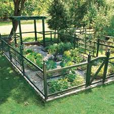 Ideas For Fencing In A Garden Vegetable Garden Fence Appliance In Home