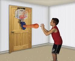 Indoor Wall Mounted Basketball Hoop For Boys Room Amazon Com Franklin Sports Shoot Again Basketball Toy