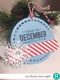 susiestampalot 25 days of christmas tags