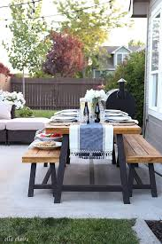 Patio Furniture Australia by Best 25 Outdoor Dining Tables Ideas On Pinterest Patio Tables