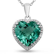 green heart necklace images Green amethyst green amethyst necklace 5ct green amethyst and
