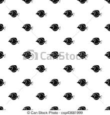 butterfly fish pattern simple style butterfly fish eps