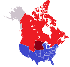 Map Of Canada With Provinces by United Provinces Of Canada The Pig War Alternative History