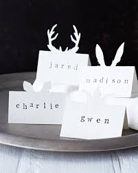 diy place cards diy animal place cards sweet paul magazine