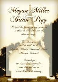 wedding reception invitation wording after ceremony wedding reception invitations
