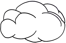 cloud coloring page free printable cloud coloring pages for kids