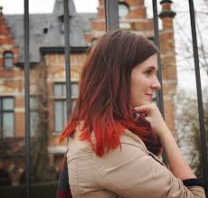 long bob with dipped ends hair 70 best dip dye images on pinterest colourful hair hair colors