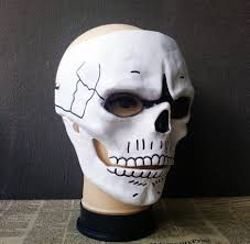 james bond 007 spectre skull skeleton full face mask cosplay