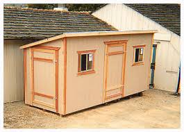 shed style roof california custom sheds 14x6 shed roof