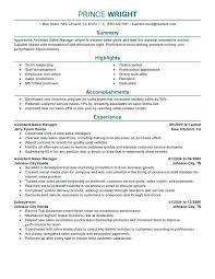 car sales resume sample assistant manager resume sample automotive