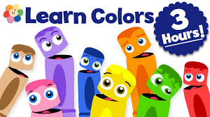 kid s learn colors for kids color learning videos for kids 3 hour