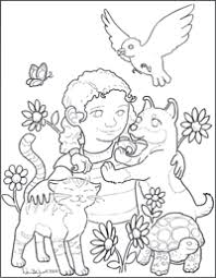 coloring pages on kindness children s coloring pages