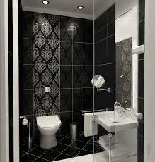black bathroom tile ideas cool bathroom tiles design ideas along with compact shower space
