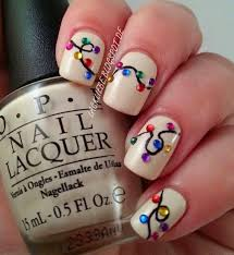 How To Decorate Nails At Home Easy Ways To Paint Your Nails For Christmas Water Nail Polish Design