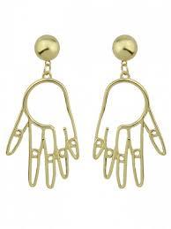 fashion earrings metal earrings golden earrings zaful