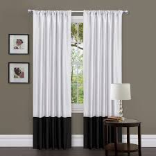 Windows Curtains by Black And White Bathroom Window Curtains