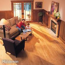 how to lay hardwood floor with a contrasting border family handyman