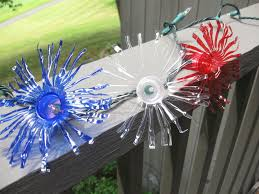craft klatch firework twinkle lights from recycled water bottles