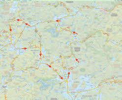 Algonquin Map Algonquin Provincial Park U2013 Waboose Adventures