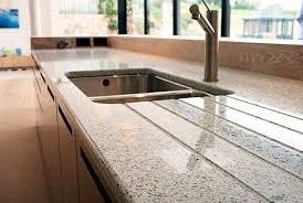 plan de travail cuisine verre plan de travail en composite en verre de cuisine recyclé s