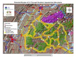 Atlanta Bypass Map by Www Peaktraffic Org