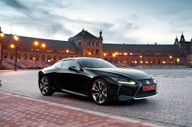 latest lexus sports car lexus lc f to take the fight to nissan gt r