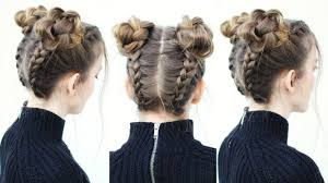 16 super cute space bun hairstyles you can try this year styles