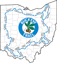 Troy Ohio Map by The Miami Rivers Chapter Of The Buckeye Trail Association