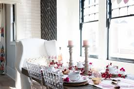 Valentine S Day Decoration Ideas At Home by Breakfast Room Valentines Day Dinner Table Decor Ideas Setting