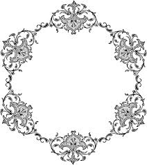 art transparent with ornaments png image ingcom image gold