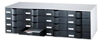 bloc de classement bureau bloc de classement 16 tiroirs bicolore maxiburo