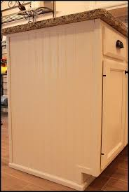 can i reface my own cabinets beadboard to reface sides of cabinets would work on