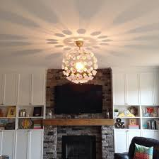 Diy Ceiling Lights 5 Ways To Makeover A Light Infarrantly Creative