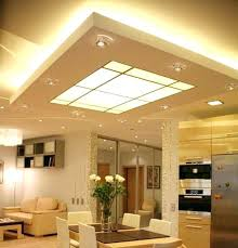 Led Kitchen Ceiling Lights Led Kitchen Ceiling Light Fixtures Glowing Ceiling Designs With
