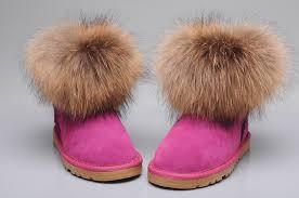 ugg sale deutschland style ugg 5854 fox fur boots mini boots