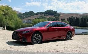 first lexus model 2018 lexus ls 500 review autoguide com news