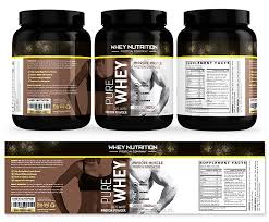 nutrition brochure template whey protein sports nutrition chocolate label template creative